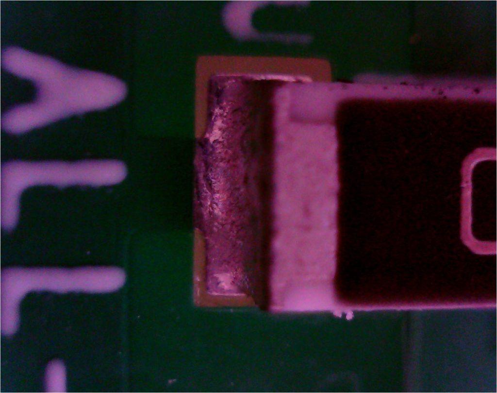 USB Digital microscope SMD resistor